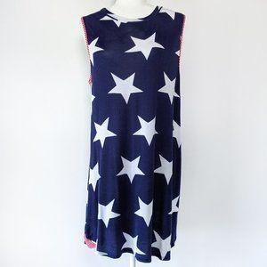 Modern Vintage Stars & Stripes Mini Dress